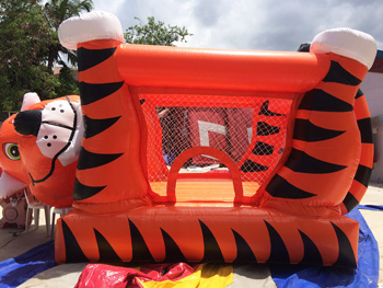 magma inflatables tiger bouncer